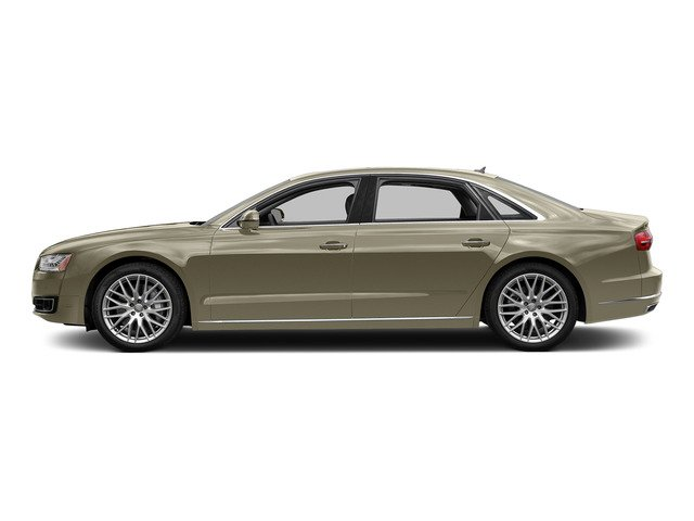 Argus Brown Metallic 2015 Audi A8 L Pictures A8 L Sedan 4D 4.0T L AWD V8 Turbo photos side view