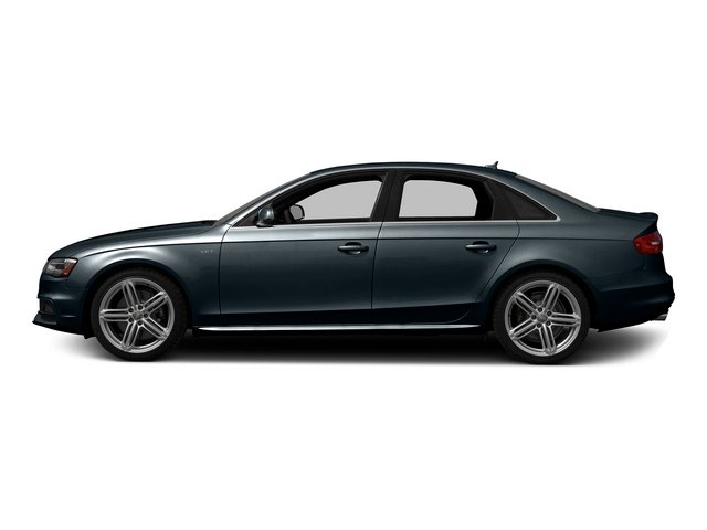 Moonlight Blue Metallic 2015 Audi S4 Pictures S4 Sedan 4D S4 Prestige AWD photos side view