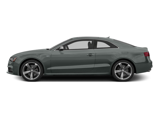 Monsoon Gray Metallic 2015 Audi S5 Pictures S5 Coupe 2D S5 Premium Plus AWD photos side view