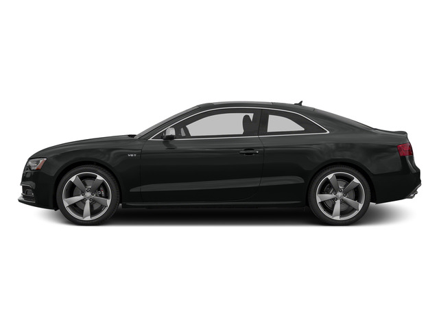 Mythos Black Metallic 2015 Audi S5 Pictures S5 Coupe 2D S5 Premium Plus AWD photos side view