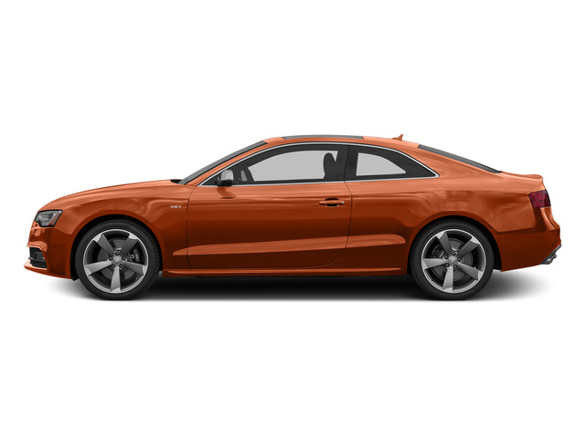 Volcano Red Metallic 2015 Audi S5 Pictures S5 Coupe 2D S5 Premium Plus AWD photos side view