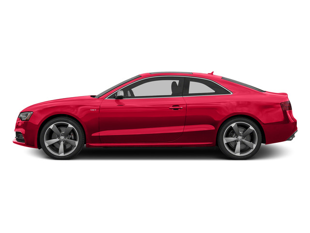 Misano Red Pearl Effect 2015 Audi S5 Pictures S5 Coupe 2D S5 Premium Plus AWD photos side view