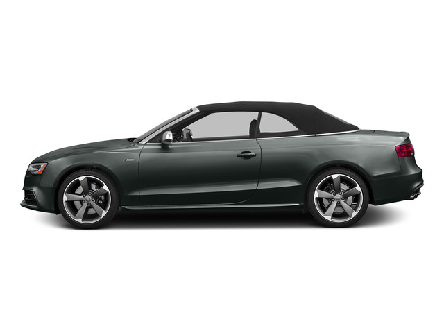Monsoon Gray Metallic/Black Roof 2015 Audi S5 Pictures S5 Convertible 2D S5 Premium Plus AWD photos side view