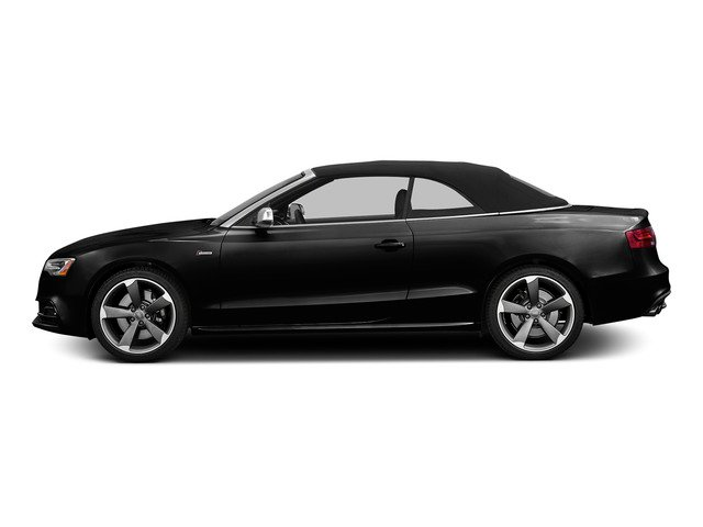 Mythos Black Metallic/Black Roof 2015 Audi S5 Pictures S5 Convertible 2D S5 Prestige AWD photos side view