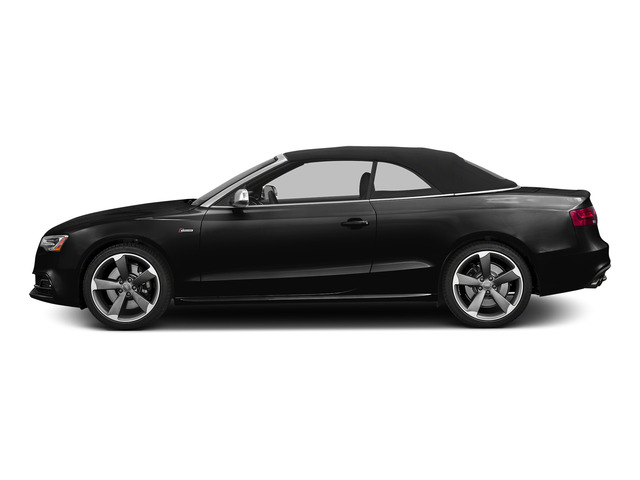 Brilliant Black/Black Roof 2015 Audi S5 Pictures S5 Convertible 2D S5 Prestige AWD photos side view