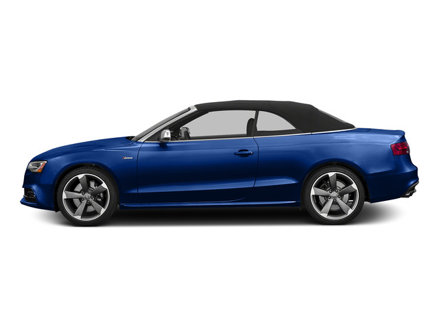 Sepang Blue Pearl Effect/Black Roof 2015 Audi S5 Pictures S5 Convertible 2D S5 Premium Plus AWD photos side view