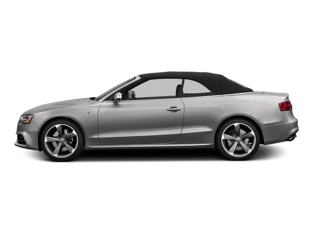 Florett Silver Metallic/Black Roof 2015 Audi S5 Pictures S5 Convertible 2D S5 Prestige AWD photos side view