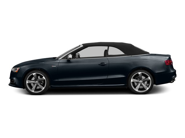 Moonlight Blue Metallic/Black Roof 2015 Audi S5 Pictures S5 Convertible 2D S5 Premium Plus AWD photos side view