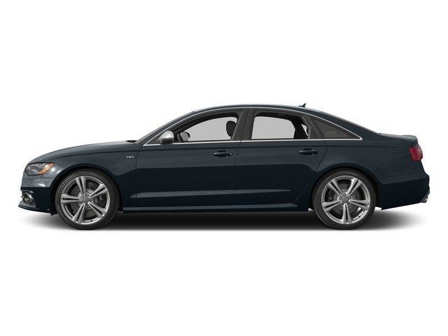 Moonlight Blue Metallic 2015 Audi S6 Pictures S6 Sedan 4D S6 Prestige AWD photos side view