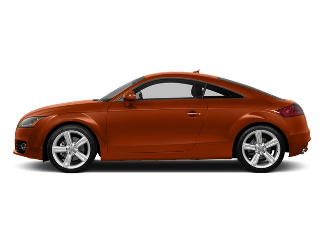 Volcano Red Metallic 2015 Audi TT Pictures TT Coupe 2D AWD photos side view