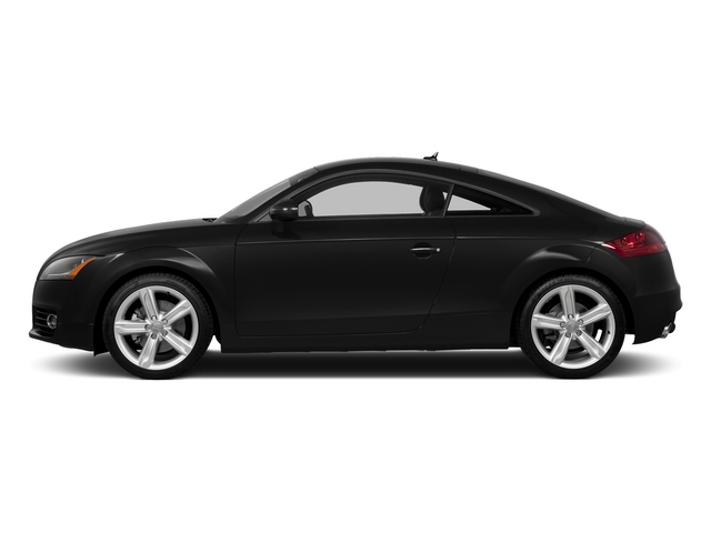Phantom Black Pearl Effect 2015 Audi TT Pictures TT Coupe 2D AWD photos side view