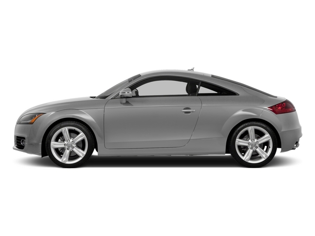 Ice Silver Metallic 2015 Audi TT Pictures TT Coupe 2D AWD photos side view