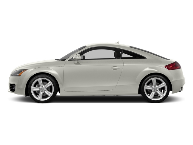Ibis White 2015 Audi TT Pictures TT Coupe 2D AWD photos side view