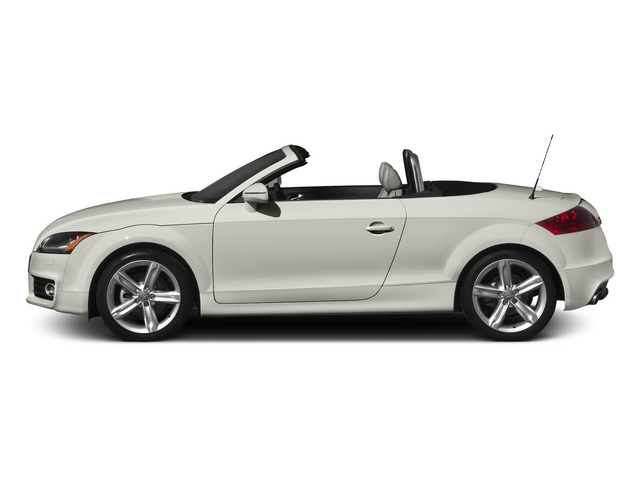 Ibis White/Black Roof 2015 Audi TT Pictures TT Roadster 2D AWD photos side view