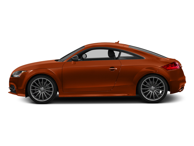Volcano Red Metallic 2015 Audi TTS Pictures TTS Coupe 2D AWD photos side view