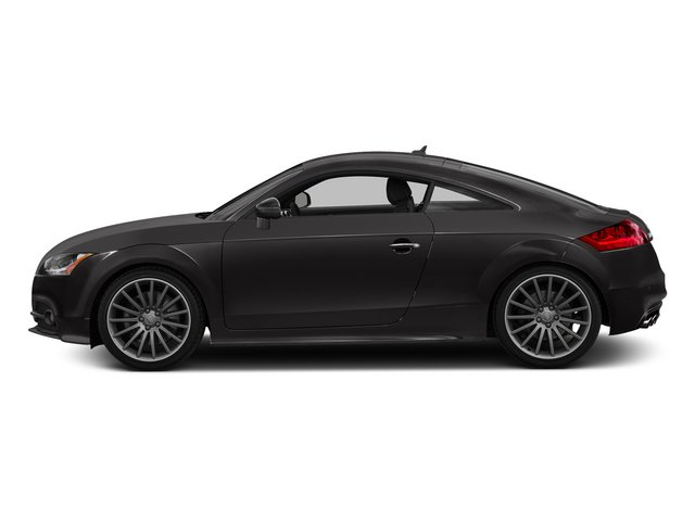 Oolong Gray Metallic 2015 Audi TTS Pictures TTS Coupe 2D AWD photos side view