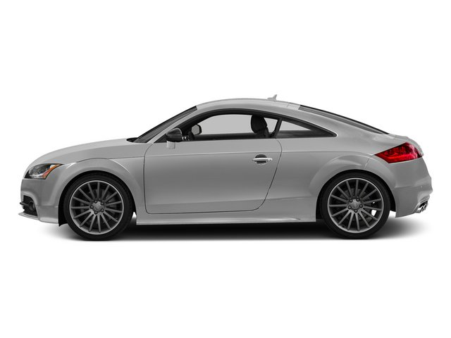 Ice Silver Metallic 2015 Audi TTS Pictures TTS Coupe 2D AWD photos side view