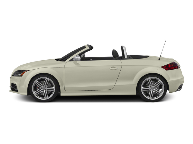 Glacier White Metallic/Black Roof 2015 Audi TTS Pictures TTS Roadster 2D AWD photos side view