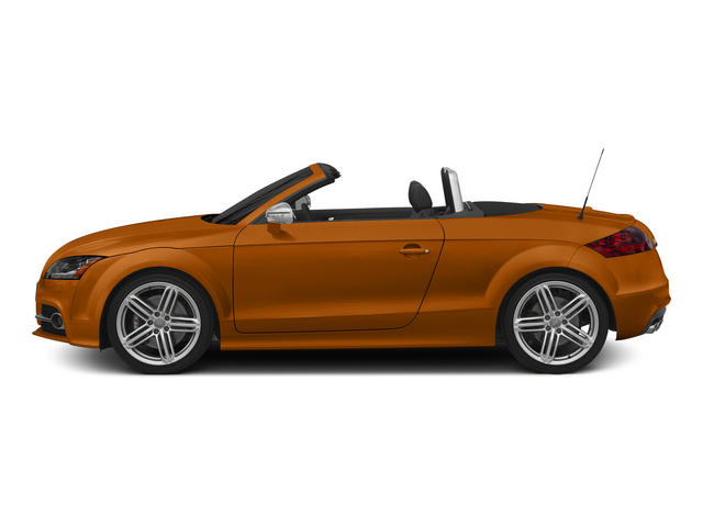 Samoa Orange Metallic/Black Roof 2015 Audi TTS Pictures TTS Roadster 2D AWD photos side view
