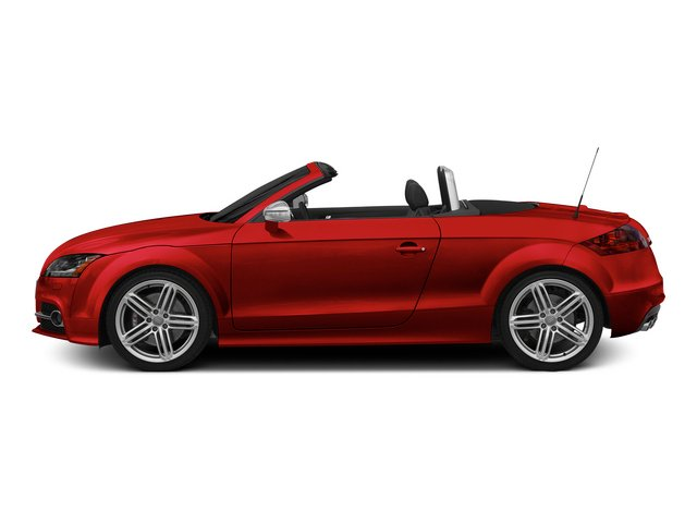 Misano Red Pearl Effect/Black Roof 2015 Audi TTS Pictures TTS Roadster 2D AWD photos side view