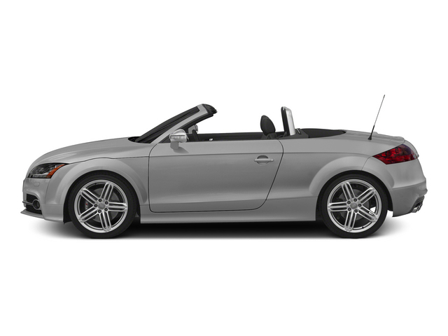 Ice Silver Metallic/Black Roof 2015 Audi TTS Pictures TTS Roadster 2D AWD photos side view