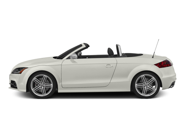 Ibis White/Black Roof 2015 Audi TTS Pictures TTS Roadster 2D AWD photos side view