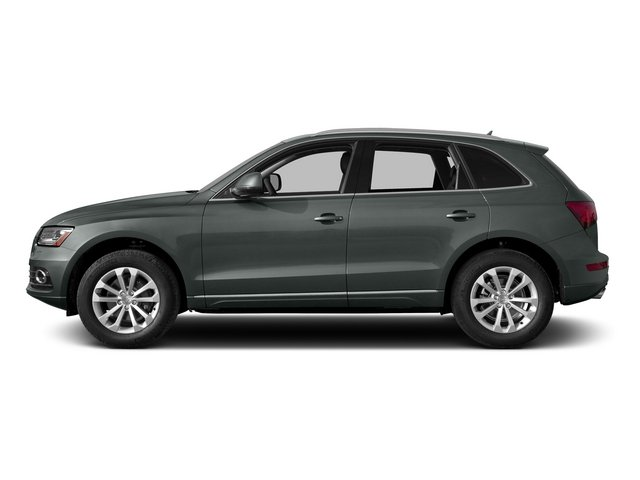Monsoon Gray Metallic 2015 Audi Q5 Pictures Q5 Utility 4D 2.0T Premium Plus AWD photos side view