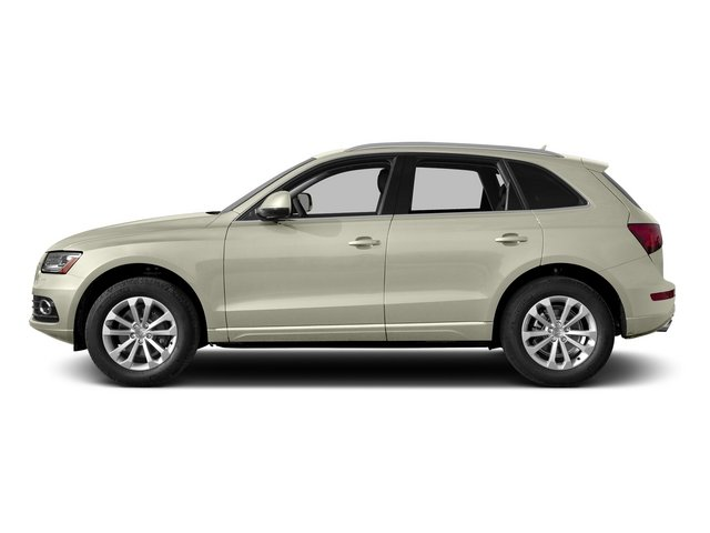 Glacier White Metallic 2015 Audi Q5 Pictures Q5 Utility 4D 3.0T Premium Plus AWD photos side view