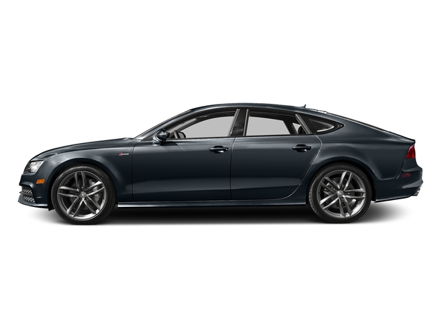 Moonlight Blue Metallic 2015 Audi A7 Pictures A7 Sedan 4D 3.0T Premium Plus AWD photos side view