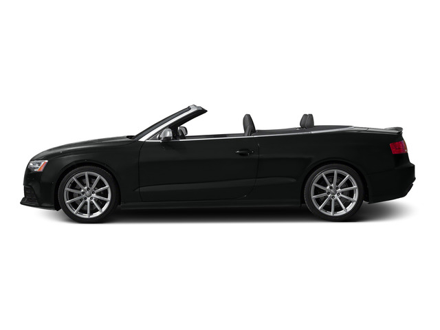 Mythos Black Metallic/Black Roof 2015 Audi RS 5 Pictures RS 5 Convertible 2D RS5 AWD V8 photos side view