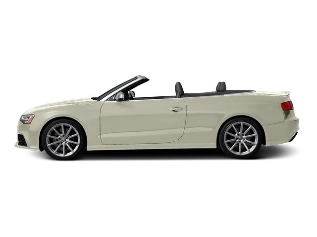 Glacier White Metallic/Black Roof 2015 Audi RS 5 Pictures RS 5 Convertible 2D RS5 AWD V8 photos side view