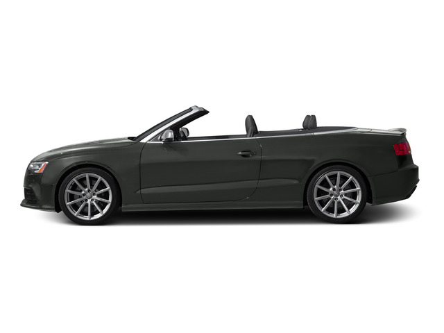 Daytona Gray Pearl Effect/Black Roof 2015 Audi RS 5 Pictures RS 5 Convertible 2D RS5 AWD V8 photos side view