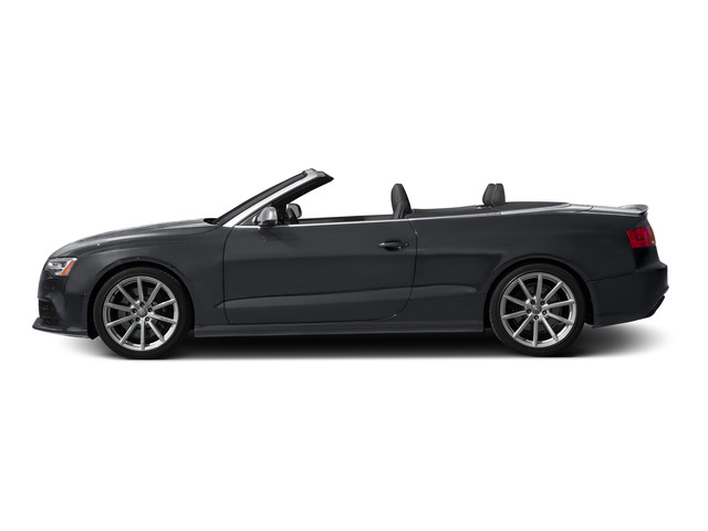 Nardo Gray/Black Roof 2015 Audi RS 5 Pictures RS 5 Convertible 2D RS5 AWD V8 photos side view