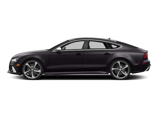Panther Black Crystal Effect 2015 Audi RS 7 Pictures RS 7 Sedan 4D Prestige AWD photos side view