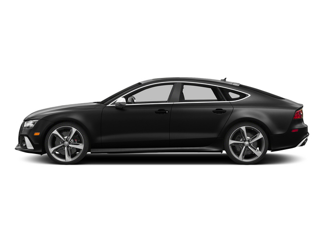 Phantom Black Pearl Effect 2015 Audi RS 7 Pictures RS 7 Sedan 4D Prestige AWD photos side view