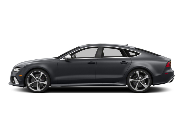 Nardo Gray 2015 Audi RS 7 Pictures RS 7 Sedan 4D Prestige AWD photos side view