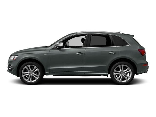 Monsoon Gray Metallic 2015 Audi SQ5 Pictures SQ5 Utility 4D Premium Plus AWD V6 photos side view