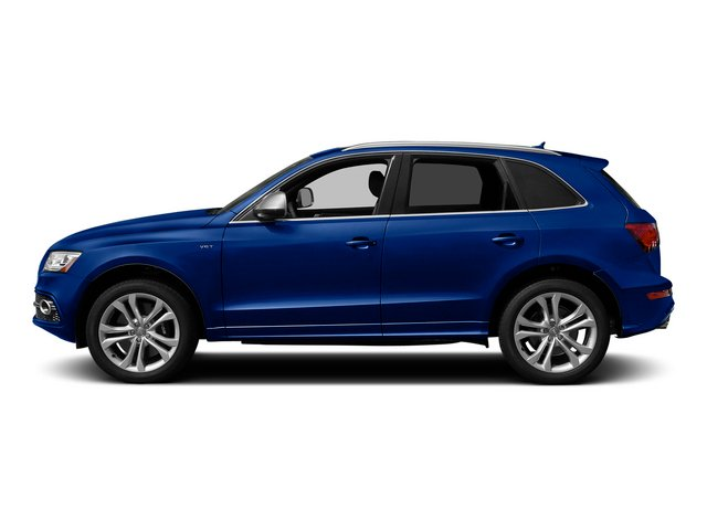 Sepang Blue Pearl Effect 2015 Audi SQ5 Pictures SQ5 Utility 4D Premium Plus AWD V6 photos side view