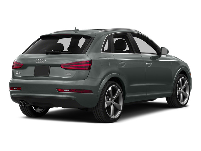 Monsoon Gray Metallic 2015 Audi Q3 Pictures Q3 Utility 4D 2.0T Prestige AWD photos side view