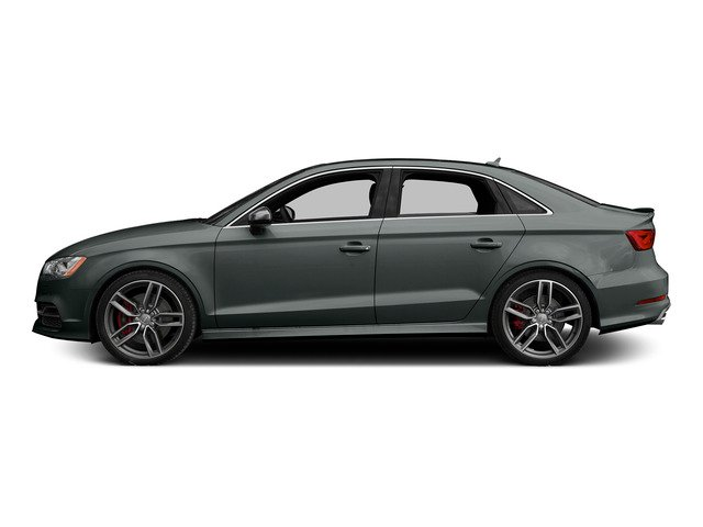 Monsoon Gray Metallic 2015 Audi S3 Pictures S3 Sedan 4D Premium Plus AWD I4 Turbo photos side view