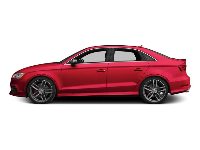 Misano Red Pearl Effect 2015 Audi S3 Pictures S3 Sedan 4D Prestige AWD I4 Turbo photos side view
