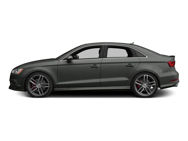Daytona Gray Pearl Effect 2015 Audi S3 Pictures S3 Sedan 4D Prestige AWD I4 Turbo photos side view