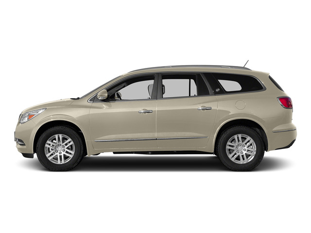 Champagne Silver Metallic 2015 Buick Enclave Pictures Enclave Utility 4D Leather 2WD V6 photos side view