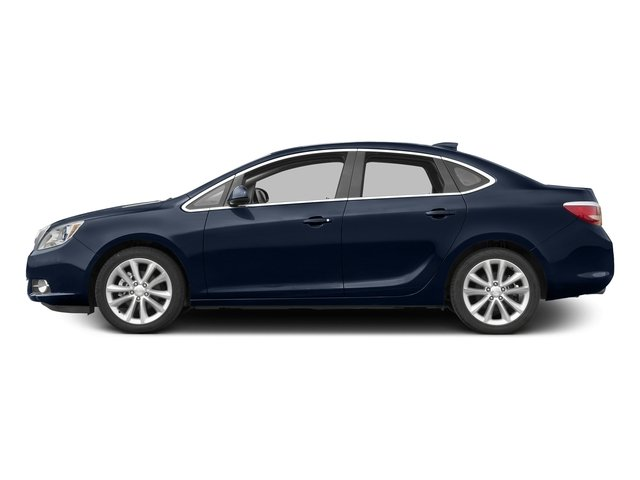 Dark Sapphire Blue Metallic 2015 Buick Verano Pictures Verano Sedan 4D I4 photos side view