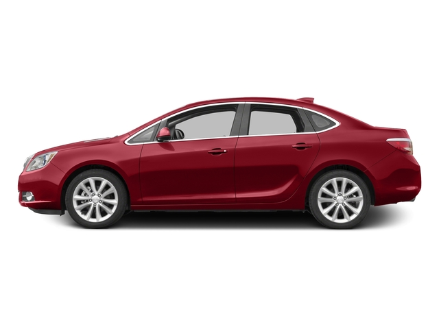 Crystal Red Tintcoat 2015 Buick Verano Pictures Verano Sedan 4D Convenience I4 photos side view