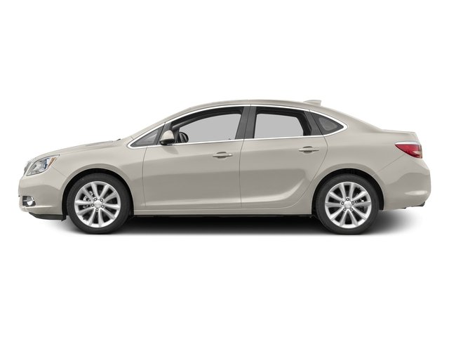 White Diamond Tricoat 2015 Buick Verano Pictures Verano Sedan 4D I4 photos side view