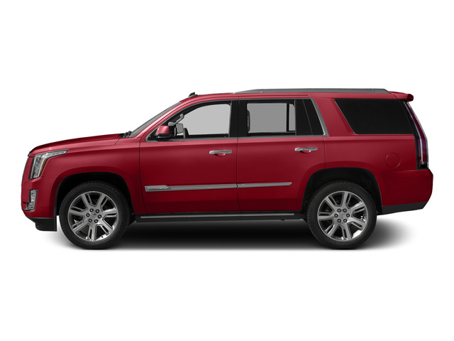 Crystal Red Tintcoat 2015 Cadillac Escalade Pictures Escalade Utility 4D 2WD V8 photos side view
