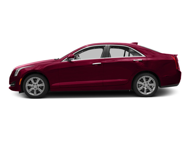 Red Obsession Tintcoat 2015 Cadillac ATS Sedan Pictures ATS Sedan 4D Luxury V6 photos side view