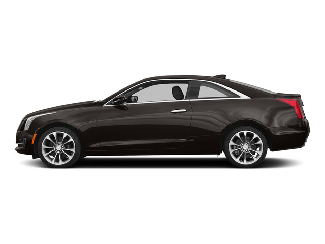 Cocoa Bronze Metallic 2015 Cadillac ATS Coupe Pictures ATS Coupe 2D Premium AWD V6 photos side view