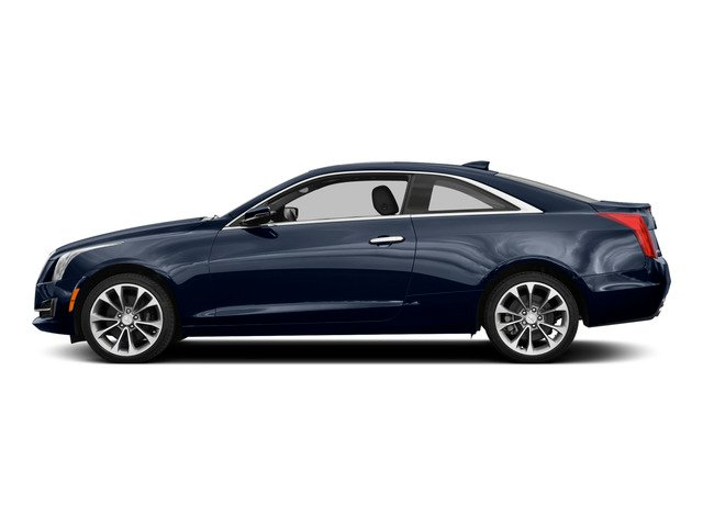Dark Adriatic Blue Metallic 2015 Cadillac ATS Coupe Pictures ATS Coupe 2D Premium AWD V6 photos side view